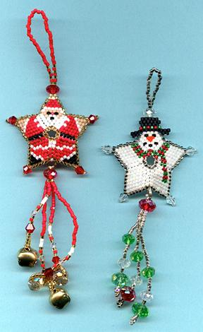 Peyote Christmas Patterns  Christmas Decore